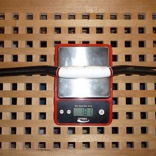 Gewicht Rotwild Lenker B160 Carbon 31.8mm, 660mm