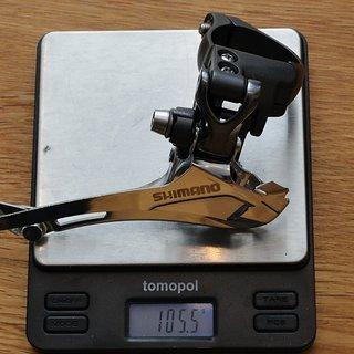 Gewicht Shimano Umwerfer FD-CX70 34,9mm
