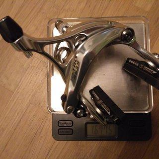 Gewicht Tektro Felgenbremse R539 47 - 59mm, VR