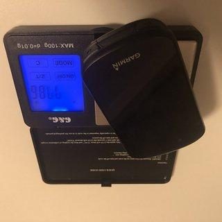 Gewicht Garmin GPS Edge 530