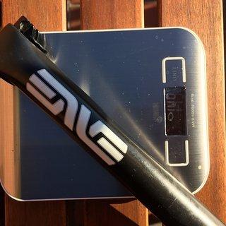 Gewicht ENVE Sattelstütze Seatpost 400mm gerade gekürzt auf 270mm 31,6 x 270mm