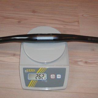 Gewicht Crank Brothers Lenker Cobalt 3 31.8mm, 685mm