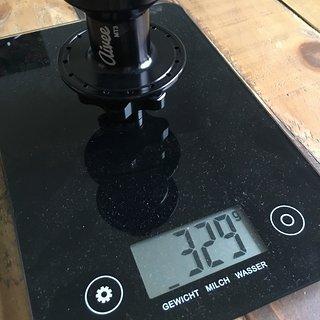 Gewicht Aivee Nabe MT3 rear hub 12x142