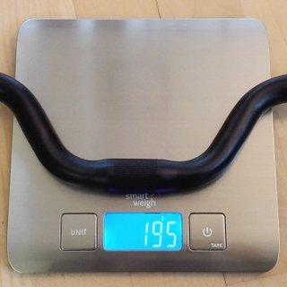 Gewicht No-Name Lenker Alu Lenker 30mm Riser 520mm Breite / 25.4mm Klemmung