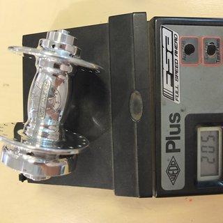 Gewicht White Industries Nabe Mi6 Disc Tandem Front 100mm