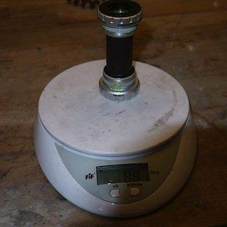 Gewicht Shimano Innenlager XT/SLX/LX SM-BB70 HTII, 68/73mm, BSA