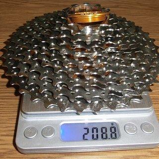 Gewicht KCNC Kassette Titan-Kassette 10-fach, 11-38Z