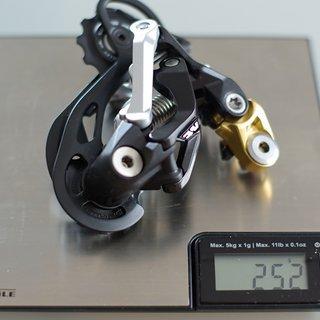 Gewicht Shimano Schaltwerk Saint RD-M810 GS Medium Cage