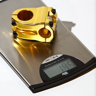 Gewicht NS-Bikes Vorbau Quark Pro 25.4mm, 40mm, 0°