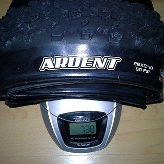 """Gewicht Maxxis Reifen Ardent 26x2.4"""" Dual Exo TR 26x2.4"""" / 60-559"""