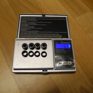 Gewicht Carbocage Kettenblattschrauben Kettenblattschrauben M8x5mm, 4x