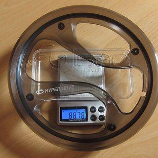 Gewicht Shimano Bashguard Acera FC-M361 48Z, 104mm