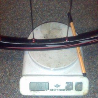 Gewicht Shimano Systemlaufräder XTR WH-M975 VR, 110mm/20