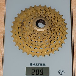 Gewicht Kocmo Kassette MTB-Kassette 9-fach, 12-34Z