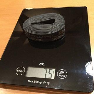 Gewicht Schwalbe Schlauch SV 20 Ventillänge 40 mm 18/25-622/630