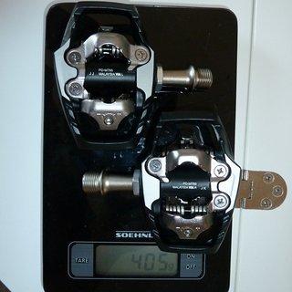 Gewicht Shimano Pedale (Klick) XT PD-M785 Trail