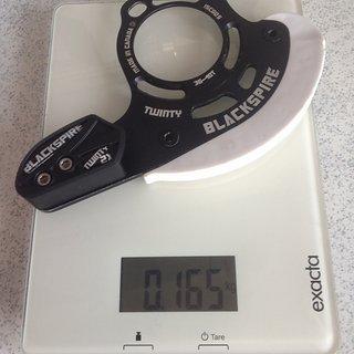 Gewicht Blackspire Kettenführung Twinty 36-40Z, ISCG-05