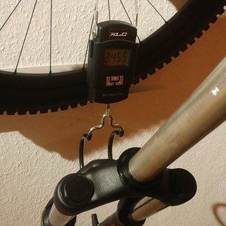 Gewicht Manitou Federgabel Manitou Circus Sport 100mm -  20x110