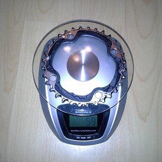 Gewicht Shimano Kettenblatt SLX FC-M670 104mm, 32Z