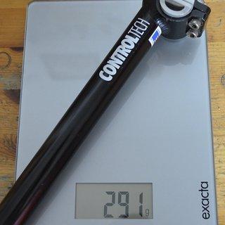 Gewicht Controltech Sattelstütze ControlTech 26,8 x 350mm
