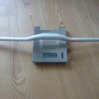 Gewicht RCZ Race Components Lenker Riser Handlebar Katana white/red Ø31,8 x 720mm