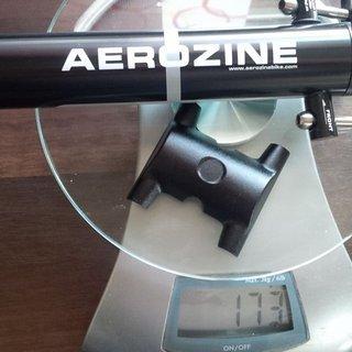 Gewicht Aerozine Sattelstütze Aerozine XP 1.0 SL 30,9x 350mm