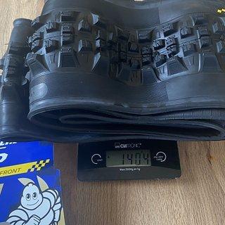 Gewicht Michelin Reifen Wild Enduro Front Racing Line MagiX DH 29 x 2,4