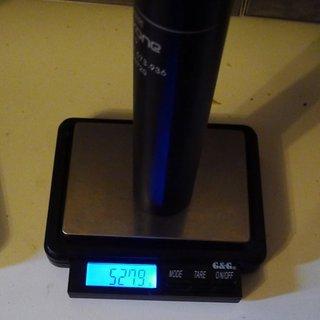 Gewicht Kind Shock Sattelstütze höhenverstellbar Dropzone 30,9 x 385mm
