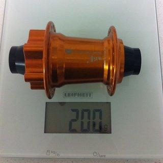 Gewicht Acros Nabe .75FR-VR, TA20, grün TA20