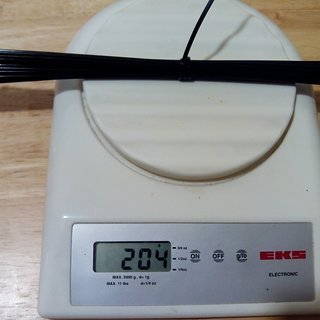 Gewicht DT Swiss Speiche Competition 290mm, 32 Stück