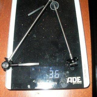 Gewicht Tune Schnellspanner DC 16+17