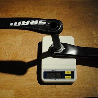 Gewicht SRAM Kurbel S2210 175mm