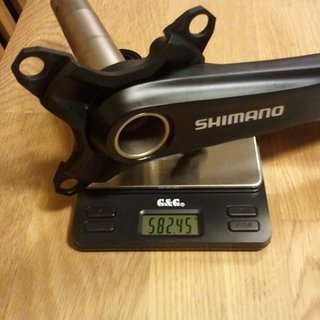 Gewicht Shimano Kurbel XT FC-M772 170mm, 68/73mm, HTII