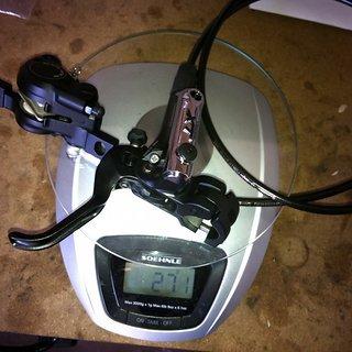 Gewicht Shimano Scheibenbremse XT BR-M785 VR, 1000mm