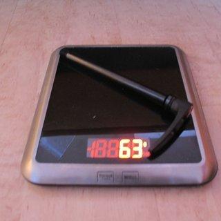 Gewicht DT Swiss Achse RWS Thru Bolt 142 x 12mm