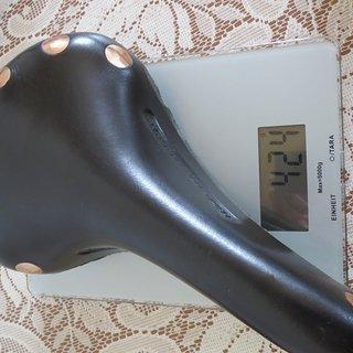 Gewicht Brooks Sattel Brooks Professional Titan