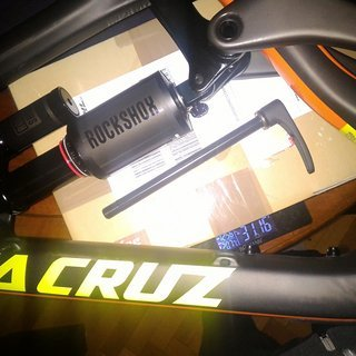 Gewicht Santa Cruz Full-Suspension Nomad Carbon 3cc M