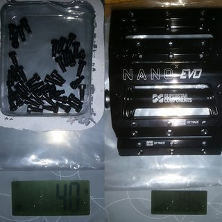Gewicht Superstar Components Pedale (Platform) Nano-x EVO 101 x 110 x 17