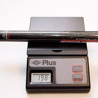 Gewicht FSA Sattelstütze K Force Light Monolink 27,2 x 350