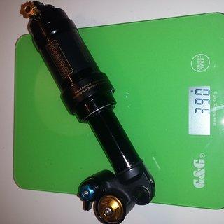 Gewicht Öhlins Dämpfer STX 22 Air