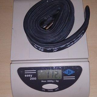 Gewicht Schwalbe Schlauch AV 15 18-28/622