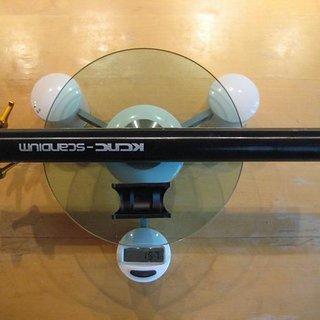 Gewicht KCNC Sattelstütze Ti Pro Lite Scandium 30,9 x 350mm
