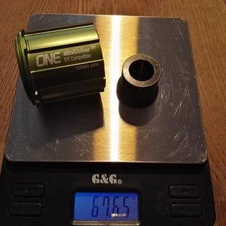 Gewicht OneUp Weiteres/Unsortiertes DT MiniDriver