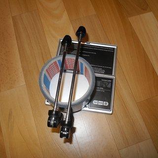 Gewicht Novatec Schnellspanner Schnellspanner 100mm, 135mm