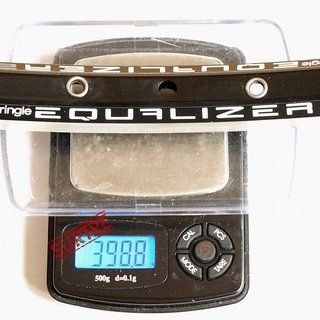 "Gewicht SunRingle Felge Equalizer 21 26"", 559x21, 28 L"