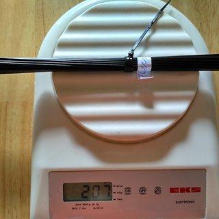 Gewicht CN Spoke Speiche MAC Butted DB454 294mm, 32 Stück