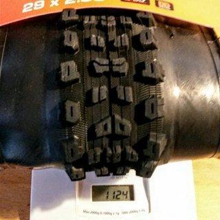 Gewicht Maxxis Reifen Aggressor DD / TR 29 x 2.3