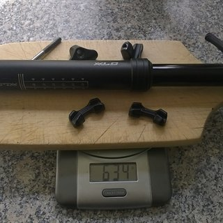 Gewicht XLC Sattelstütze höhenverstellbar Pro SP-T03 31.6 x 350mm