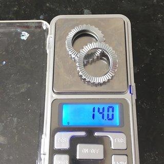 Gewicht Bontrager Weiteres/Unsortiertes Zahnscheibe 54er für DT Swiss 240s x 2 2 x 54 hohl