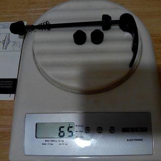 Gewicht Mavic Weiteres/Unsortiertes Front Axle Adapters QR